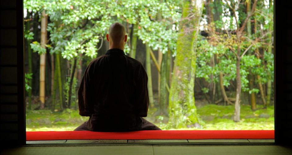 Michael Stone - Meditating in Kyoto