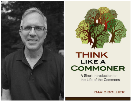 "David Bollier, autor de ""Think Like a Commoner"""